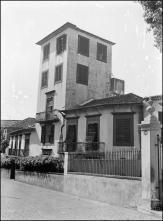 Edifício da Comissão de Assistência, rua do Castanheiro, Freguesia da Sé, Concelho do Funchal