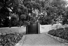 Portão de entrada da Quinta de Nossa Senhora das Angústias, Freguesia da Sé, Concelho do Funchal