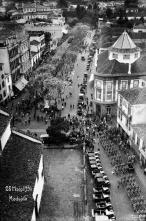 Avenida Arriaga e rua do Aljube, Freguesia da Sé, Concelho do Funchal
