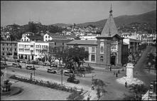 Avenida Arriaga, avenida Zarco e largo da restauração, Freguesia da Sé, Concelho do Funchal