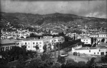 Avenida Arriaga e praça do Infante, Freguesia da Sé, Concelho do Funchal