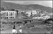 Construção da praça do Infante, Freguesia da Sé, Concelho do Funchal