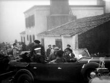 General Italo Balbo na casa de abrigo do Poiso, Freguesia da Camacha, Concelho de Santa Cruz