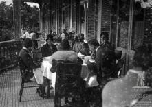 Almoço no Hotel Belmonte, oferecido a Júlio Prestes de Albuquerque pelo governador civil da Madeira coronel José Maria de Freitas, Freguesia do Monte, Concelho do Funchal