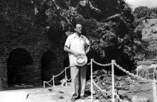 Ator britânico Terry Thomas no Reid's Palace Hotel, Freguesia de São Martinho, Concelho do Funchal