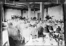 """Sala de jantar do Chalet """"Restaurant-Esplanade"""" (atual Quinta do Terreiro da Luta), Freguesia do Monte, Concelho do Funchal"""