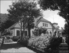 """Edifício e jardim do Chalet """"Restaurant-Esplanade"""" (atual Quinta do Terreiro da Luta), Freguesia do Monte, Concelho do Funchal"""