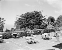 """Esplanada do Chalet """"Restaurant-Esplanade"""" (atual Quinta do Terreiro da Luta), Freguesia do Monte, Concelho do Funchal"""