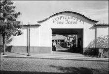 Entrada da Edificadora do Bom Jesus, rua do Bom Jesus, Freguesia da Sé