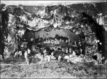 Presépio de rochinha [do padre Luís], em local não identificado