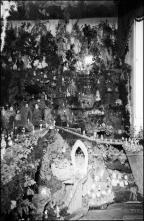 Presépio de rochinha na casa da Sra. Maria Figueira, Freguesia de Santa Luzia, Concelho do Funchal