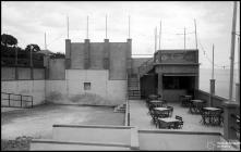 Bar provisório da piscina do Gorgulho (atual Complexo Balnear do Lido), Freguesia de São Martinho, Concelho do Funchal