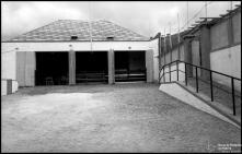 Entrada da piscina do Gorgulho (atual Complexo Balnear do Lido), Freguesia de São Martinho, Concelho do Funchal