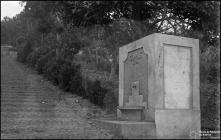 Fontanário no caminho do Desterro, Freguesia do Monte, Concelho do Funchal