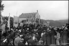 Procissão na capela de Nossa Senhora de Fátima, no Pico do Galo, Freguesia e Concelho de Câmara de Lobos