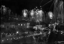 Fogo de artifício na passagem do ano de 1949 para 1950, Freguesia da Sé, Concelho do Funchal