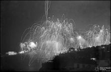 Fogo de artifício na passagem do ano, Freguesia da Sé, Concelho do Funchal