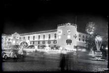 Iluminação do palácio de São Lourenço na passagem de ano de 1959 para 1960, Freguesia da Sé, Concelho do Funchal