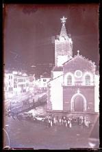 Iluminações de Natal e de Fim de Ano da Sé Catedral e da rua do Aljube, na passagem do ano de 1937 para 1938, Freguesia da Sé, Concelho do Funchal