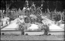 Campa de D. Rosa Gomes no cemitério das Angústias, Freguesia de São Martinho, Concelho do Funchal