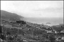 Panorâmica da cidade do Funchal