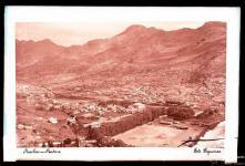 Panorâmica da vila (atual cidade) e vale de Machico, Freguesia e Concelho de Machico