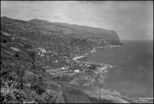 Panorâmica  do sítio do Lugar de Baixo, Freguesia e Concelho da Ponta do Sol