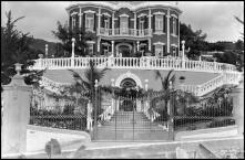 Quinta Elmina (atual Lar Vila Assunção), no caminho da Igreja e rua do Conde Carvalhal, Freguesia de São Gonçalo, Concelho do Funchal