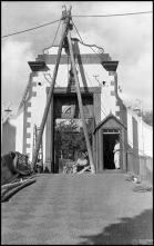 Portão do cemitério das Angústias, Freguesia de São Pedro (atual Freguesia da Sé), Concelho do Funchal