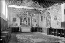 Altar do coro alto do convento de Santa Clara, Freguesia de São Pedro, Concelho do Funchal