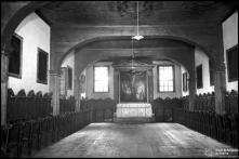Altar e cadeiral do coro baixo do convento de Santa Clara, Freguesia de São Pedro, Concelho do Funchal
