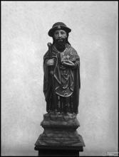 Escultura de um santo