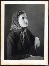 Retrato de uma mulher (três quartos)