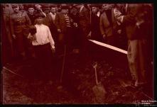 Exumação do cadáver de António Carlos, no sítio dos Barreiros, Freguesia do Caniço, Concelho de Santa Cruz