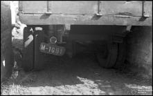 Rodado de um camião envolvido num atropelamento na Ribeira Brava, Freguesia e Concelho da Ribeira Brava
