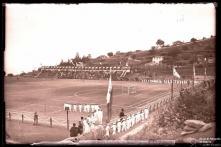 Cerimónia no campo dos Barreiros (atual estádio do Marítimo), Freguesia de São Martinho, Concelho do Funchal