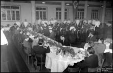 Jantar do Clube Sport Marítimo, no Hotel Savoy (atual Hotel Savoy Palace), Freguesia de São Pedro (atual Freguesia da Sé), Concelho do Funchal
