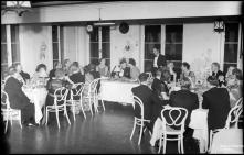 Festa de passagem de ano, no Hotel Bela Vista (atual Seminário Diocesano do Funchal), Freguesia da Sé, Concelho do Funchal