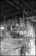 Maquinaria, num estabelecimento industrial não identificado, na Ilha da Madeira