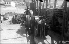 Máquina, na serragem de São Lázaro, Freguesia de São Pedro (atual Freguesia da Sé, Concelho do Funchal