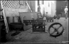 Máquinas, na serragem do Pita, Freguesia de São Pedro, Concelho do Funchal