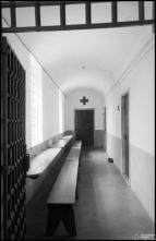 Interior da cadeia do Funchal, na rua Arcebispo Dom Aires, Freguesia de Santa Luzia (atual Freguesia do Imaculado Coração de Maria), Concelho do Funchal