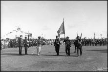 Parada da Polícia de Segurança Pública, no campo Almirante Reis, Freguesia de Santa Maria Maior, Concelho do Funchal