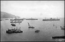 Barcos na baía do Funchal