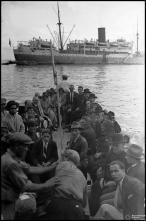 Transporte de passageiros para embarque em navio, na baía do Funchal, Freguesia da Sé, Concelho do Funchal